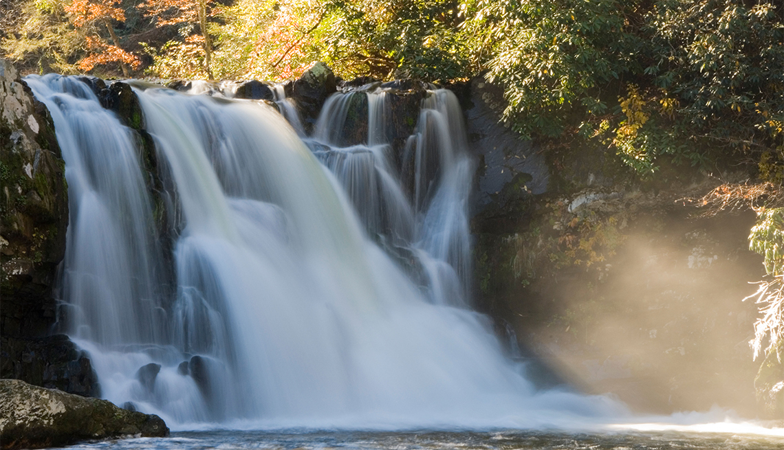 item 1 of Gallery image - Abram's Fall in the Great Smoky Mountains National Park