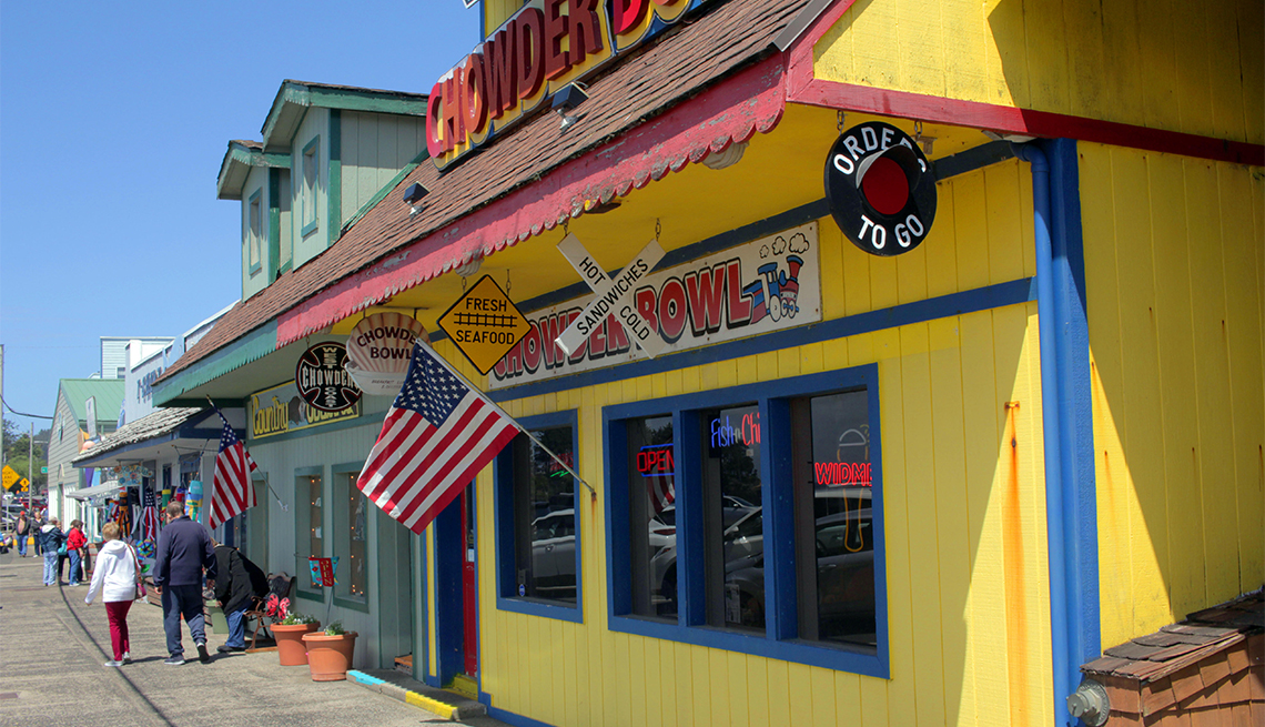 stores in Depoe Bay, Oregon