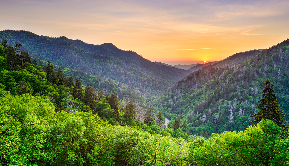 item 3 of Gallery image - Newfound Gap in the Smoky Mountains