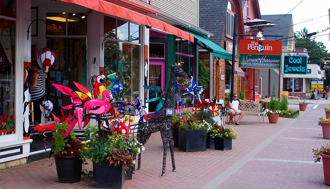 Shops in North Conway, New Hampshire