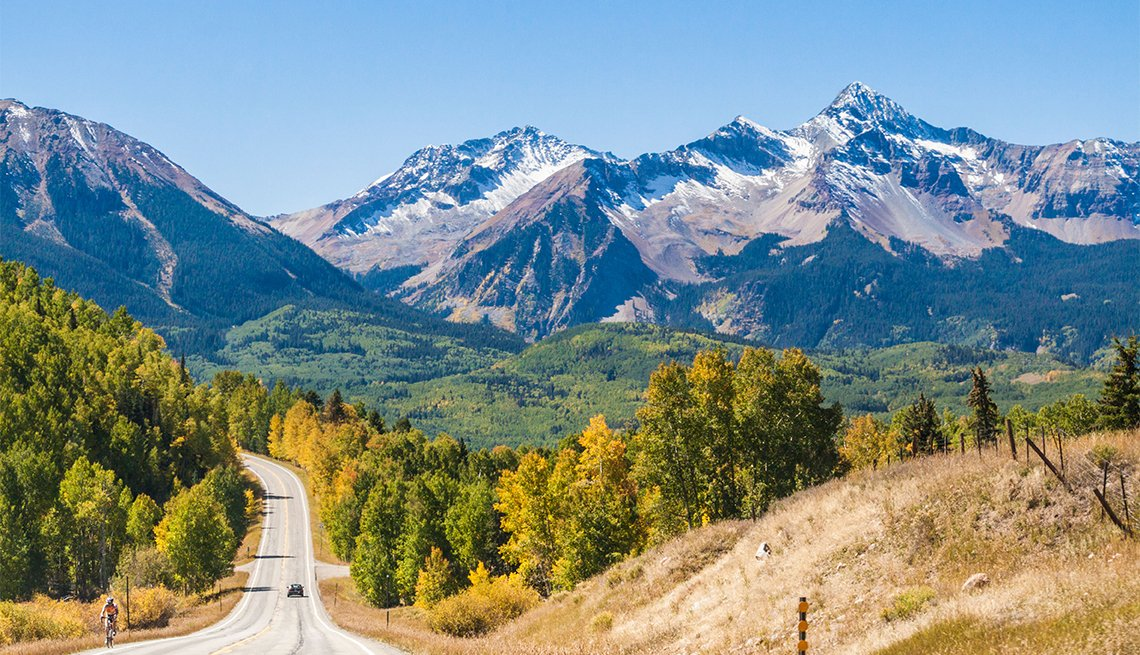 item 6 of Gallery image - Autumn color along the San Juan Skyway Scenic Byway in Colorado.