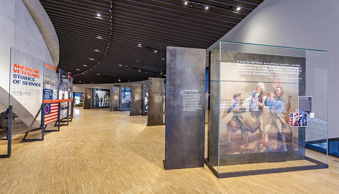 Sala temática del Museo y Monumento Nacional de los Veteranos