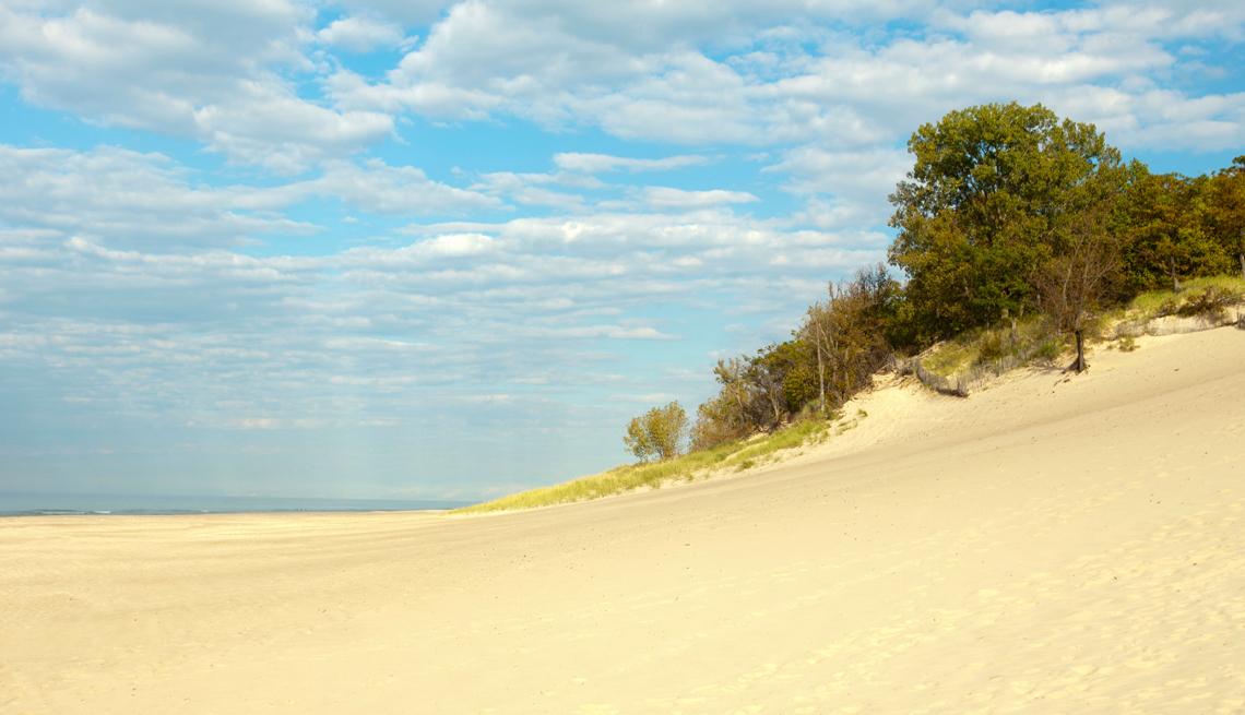 Panorámica del Parque Nacional Indiana Dunes