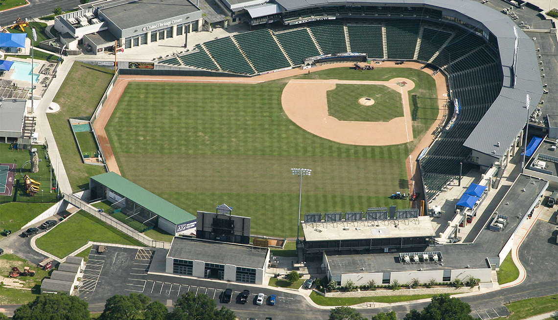 item 6 of Gallery image -  The Dell Diamond in Round Rock, Texas - home of the Houston Astros feeder team the Round Rock Express