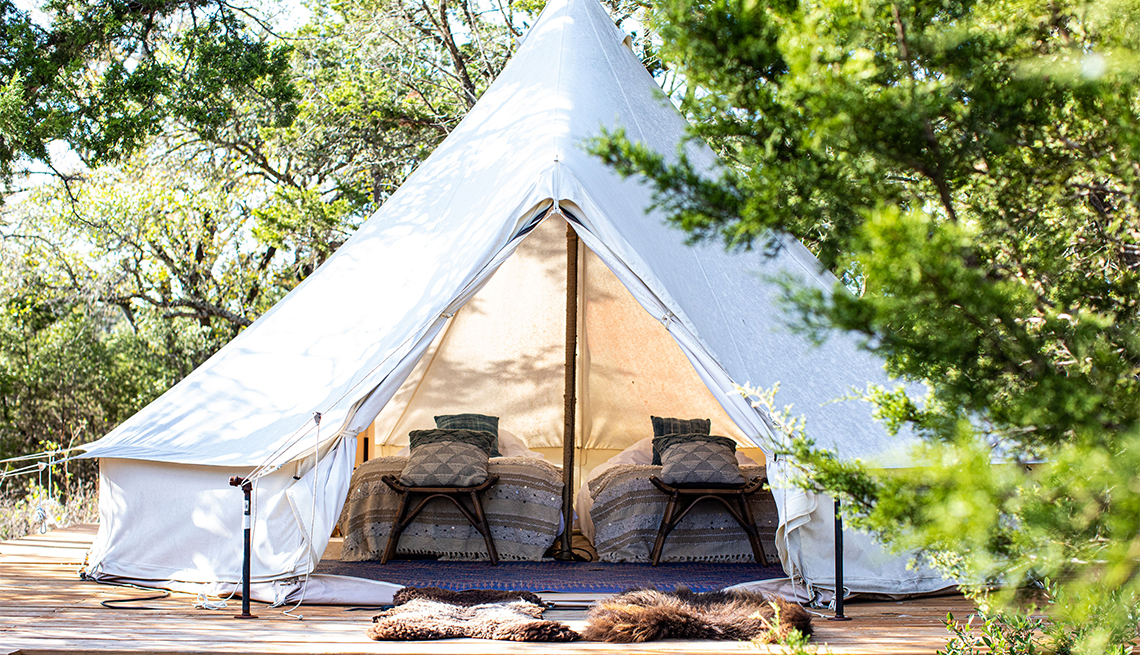 Collective Hill Country family tent