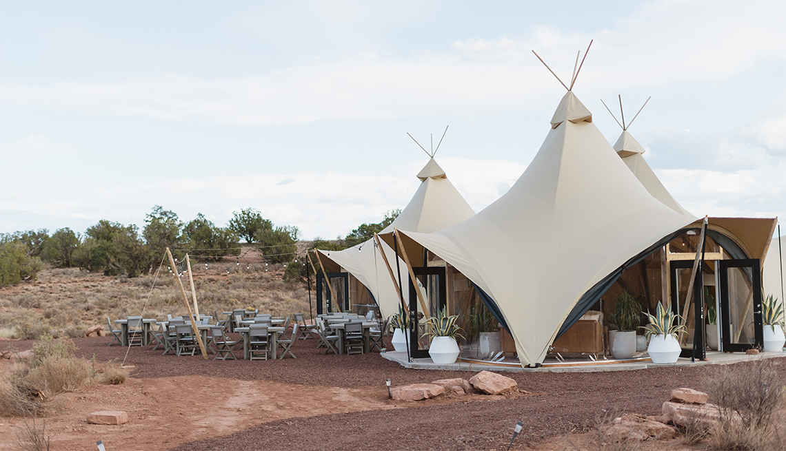 tents at Under Canvas
