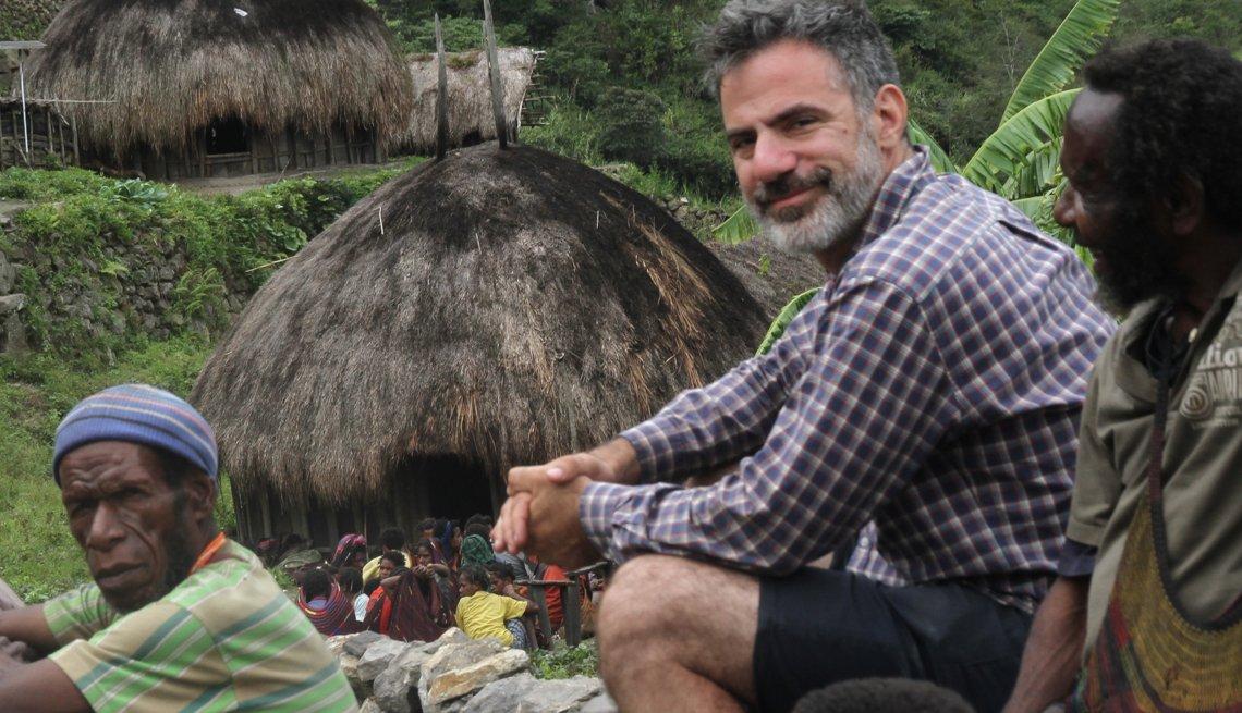Seth Kugel en Papua Indonesia.
