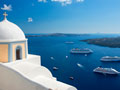 Santorini, Greece, top 10 cruise ports