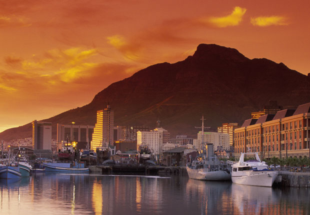 Capetown, South Africa, top 10 cruise ports