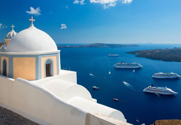 Santorini, Grecia - 10 principales puertos de cruceros
