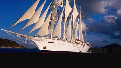 Crucero Star Clipper - 5 pequeños cruceros para explorar el mar