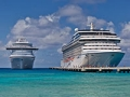 Cruise ships at beach, how to stay safe on a cruise