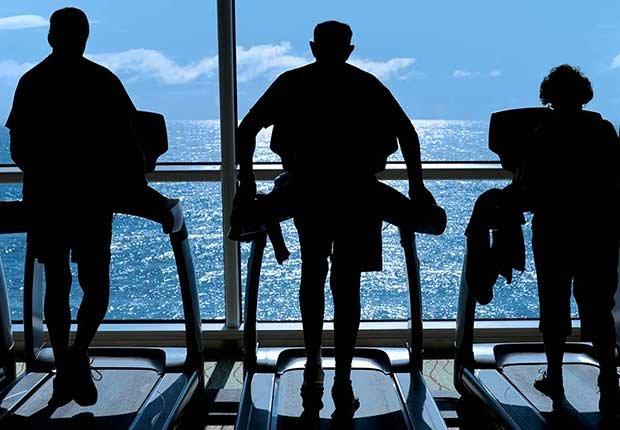 Gimnasio a bordo de un crucero - 8 mitos sobre cruceros