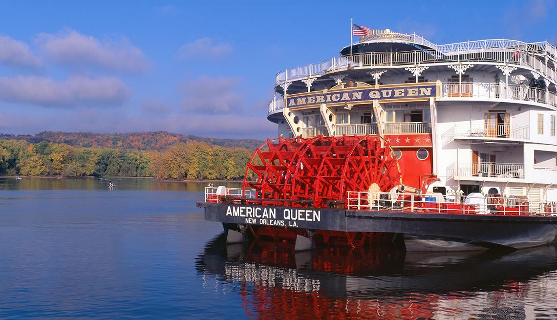 Cruceros que viajan por ríos estadounidenses
