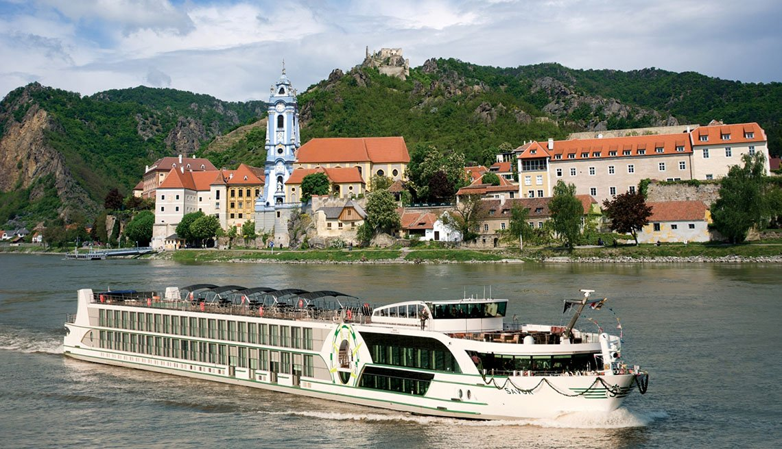 A River Cruise On The Danube In Austria, European River Cruises