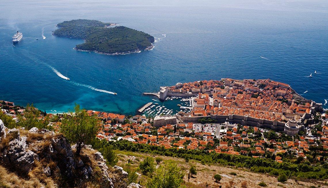 Dubrovnik, Coatia, High Angle View, A Sentimental Cruise for a Solo Traveler