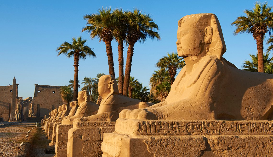 Luxor Temple and Avenue of Sphinxes in Luxor, Egypt, Voyageurs du Monde, Luxury World Cruises