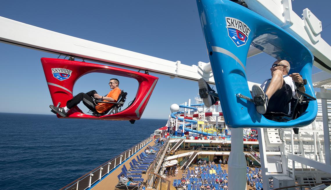 Skyride a bordo del Carnival Horizon