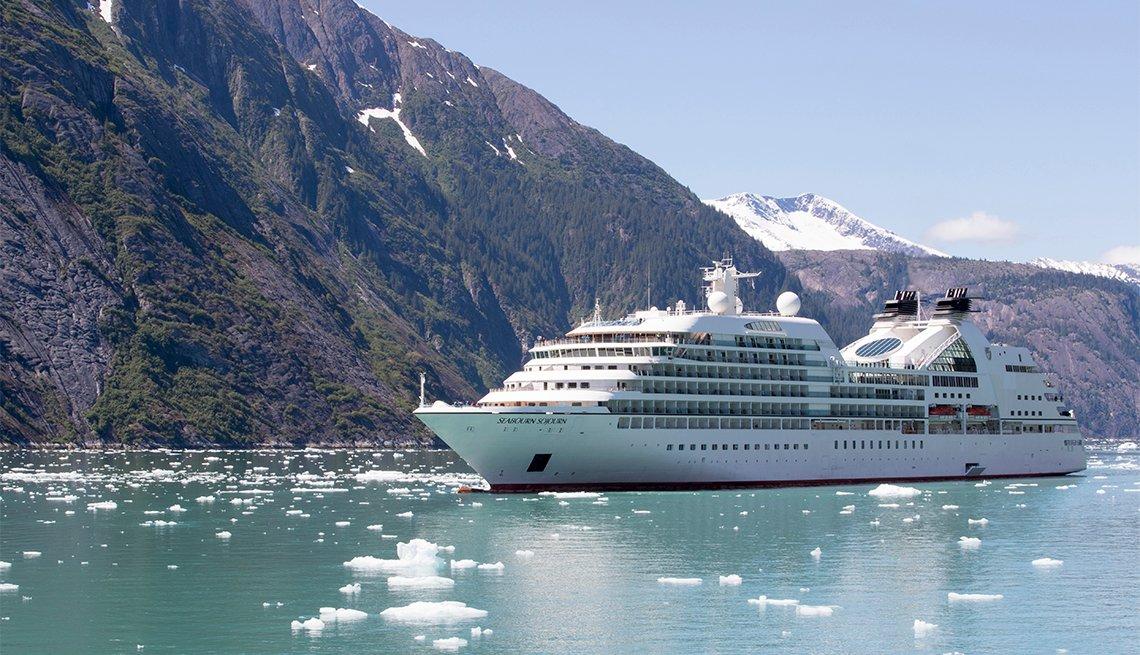 Seabourn Sojourn - Aialik Bay, Alaska