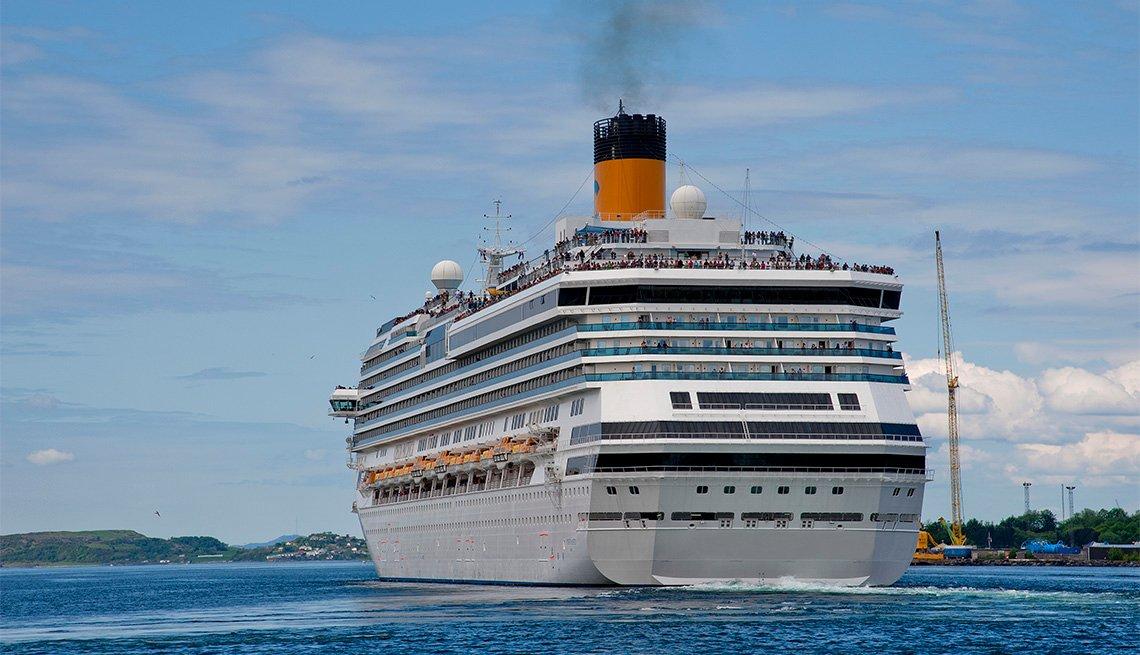 cruise ship in Stavanger, Norway