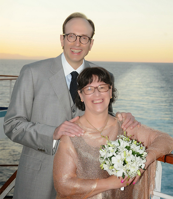Nina Yablok and her husband