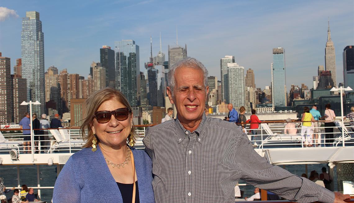 Norma Starr y Mitchell Schneidkraut