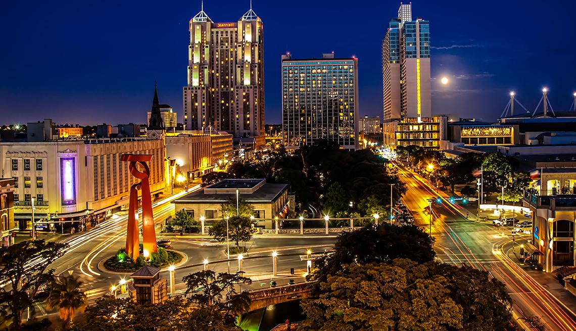 A view of Downtown San Antonio