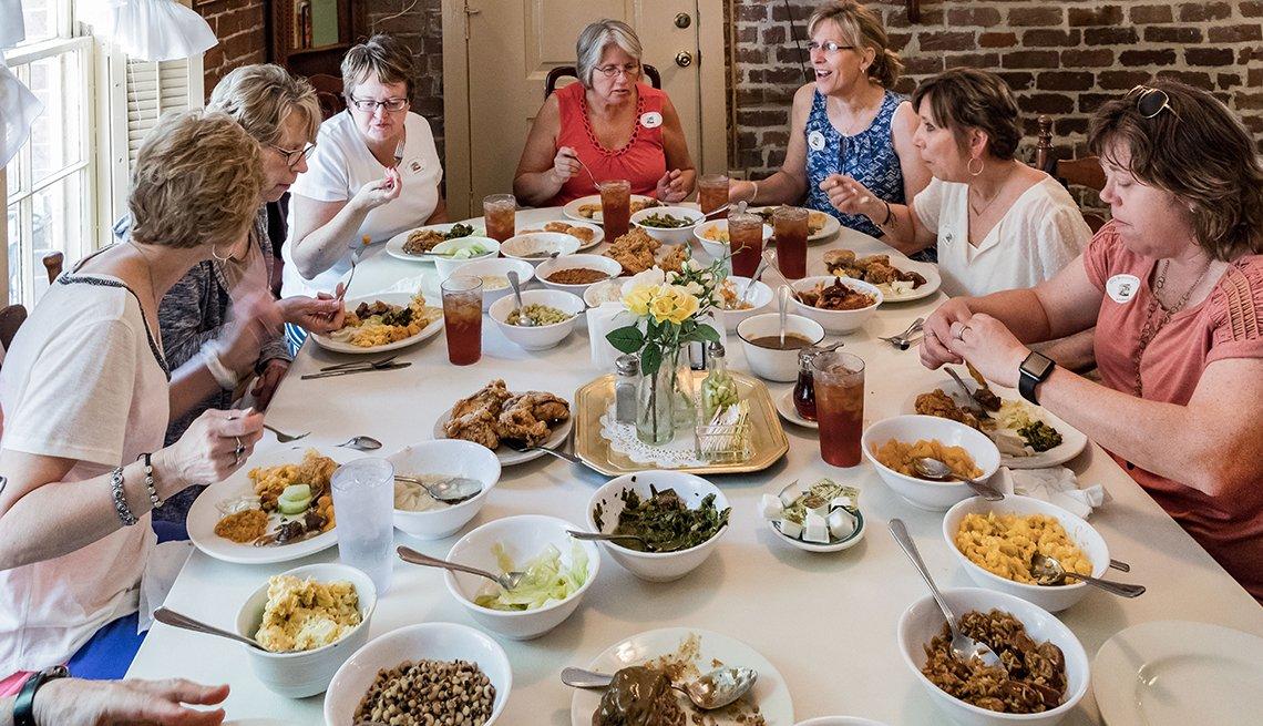 Mrs. Wilkes' Dining Room in Savannah