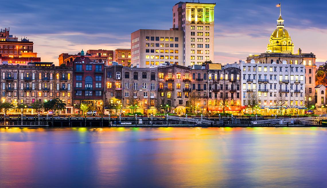 Savannah skyline