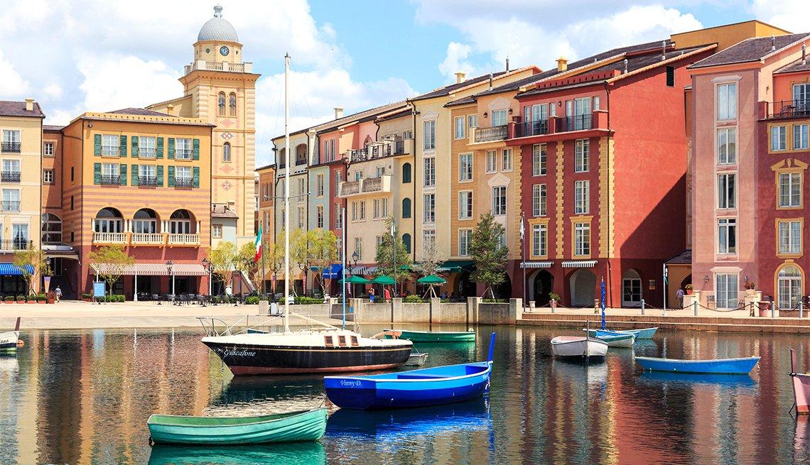 Portofino hotel, part of Universal Studios theme park