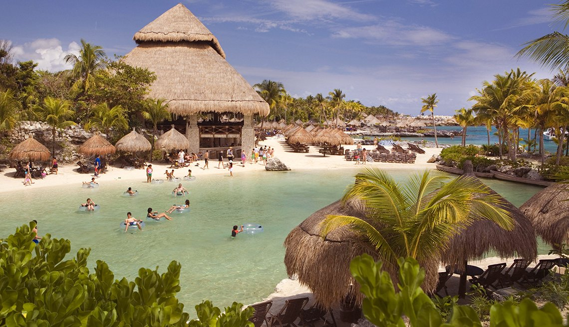 Xcaret eco-adventure park in Cancun