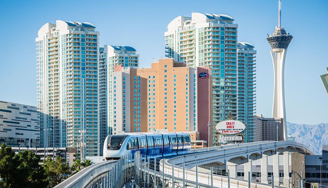 Monorail in Las Vegas Nevada