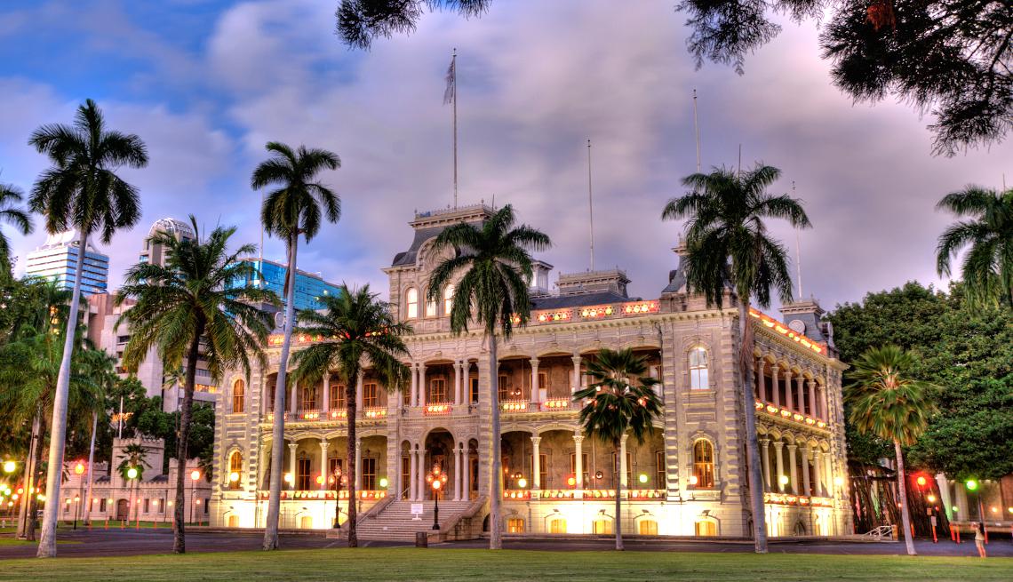 'Iolani Palace Oahu, Hawaii