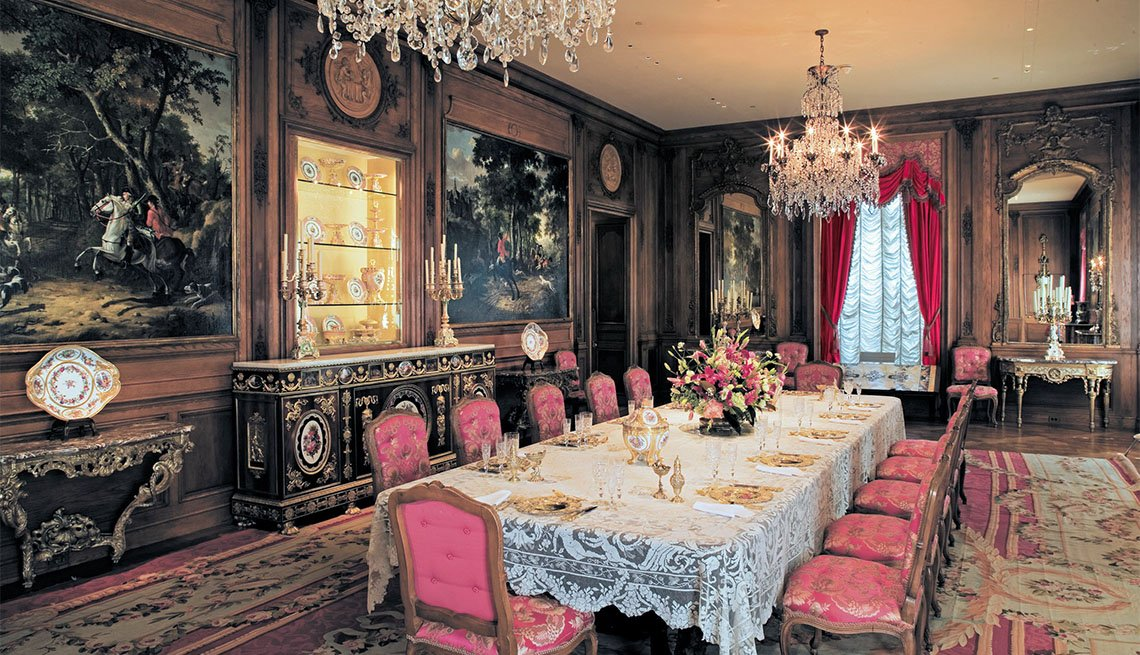 Dining Room at Hillwood Estate