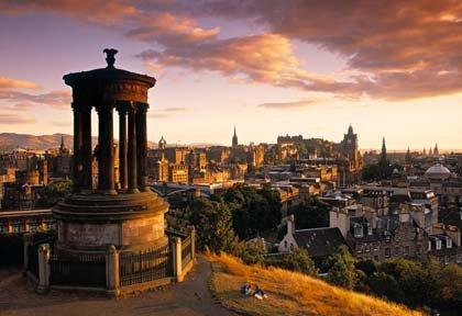 Combata el calor con estas 5 ciudades: Edimburgo