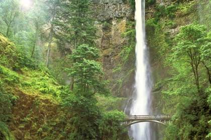 Cataratas Multnomah, Río Columbia, Oregon