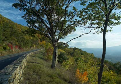 North Skyline Drive, Shenandoah National Park, Virginia, USA