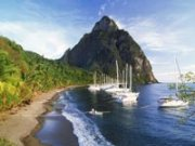 Costa de St. Lucia - Los 5 mejores Frommer cruceros en el Caribe