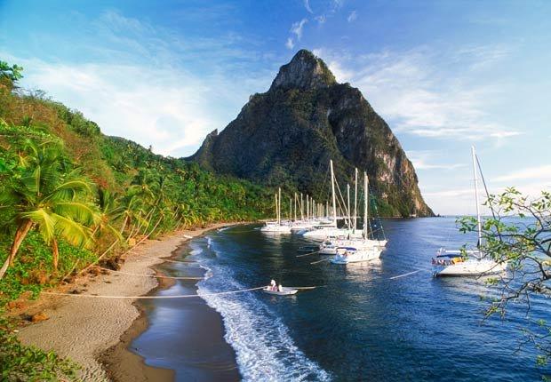 St Lucia - Los 5 mejores Frommer cruceros en el Caribe