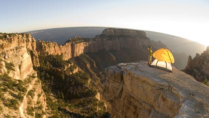 rv camping around grand canyon arizona .