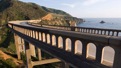 Big Sur and the Bixby Creek Bridge