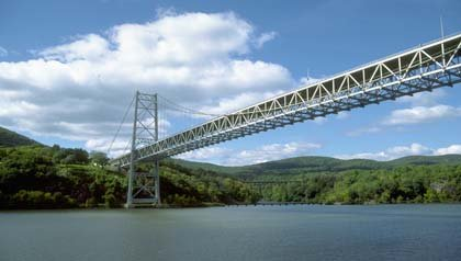 Puente Bear Mountain en West Point, Nueva York – Seis puentes para no perdérselos.