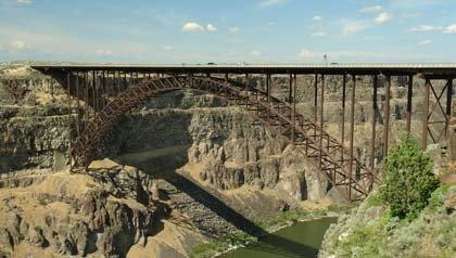 Puente Perrine en Twin Falls, Idaho – Seis puentes para no perdérselos.