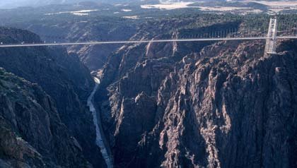 Puente Royal Gorge en Canon City, Colorado – Seis puentes para no perdérselos.