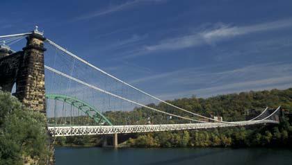 Puente Colgante Wheeling en West Virginia – Seis puentes para no perdérselos.