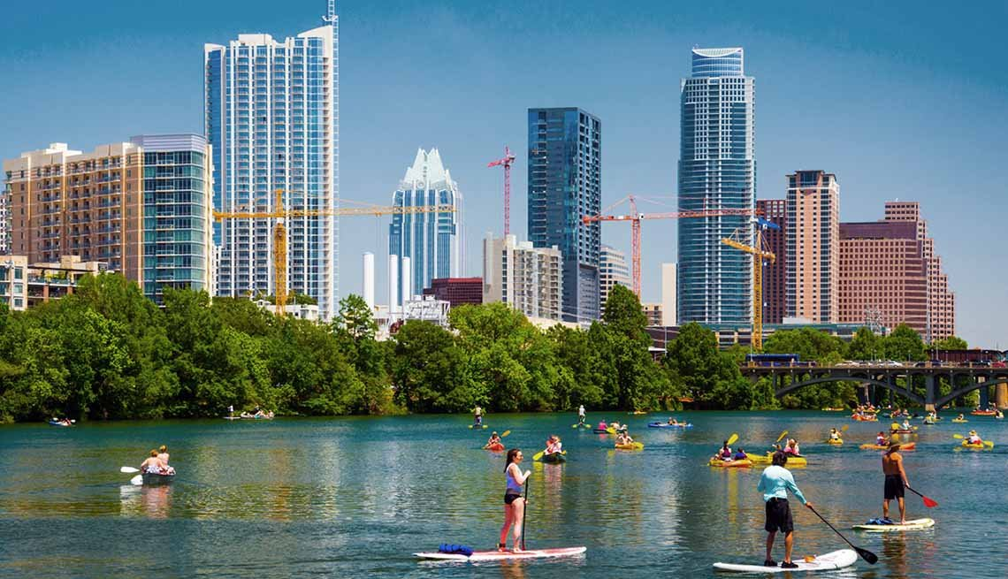 Best Outdoor Cities Austin