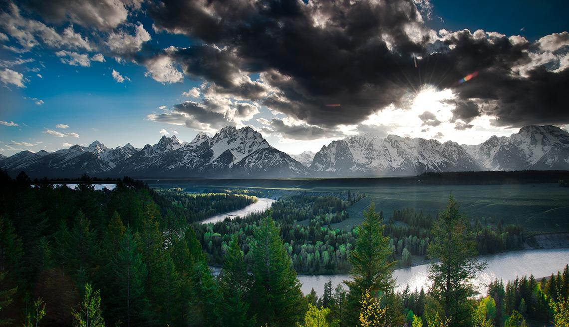 Teton Range, Wyoming - 10 maravillas naturales en Estados Unidos