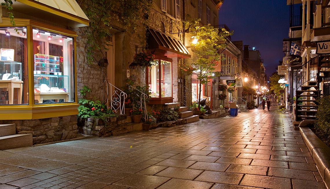 Ciudad de Quebec, Canadá, lugares para una segunda luna de miel