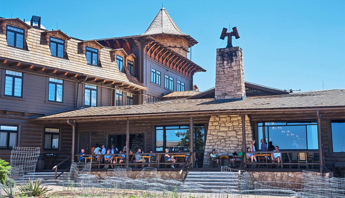 Hotel el Tovar, Parque Nacional del Gran Cañón