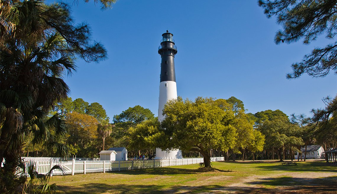 item 12 of Gallery image - Historic lighthouse in Hunting Island State Park